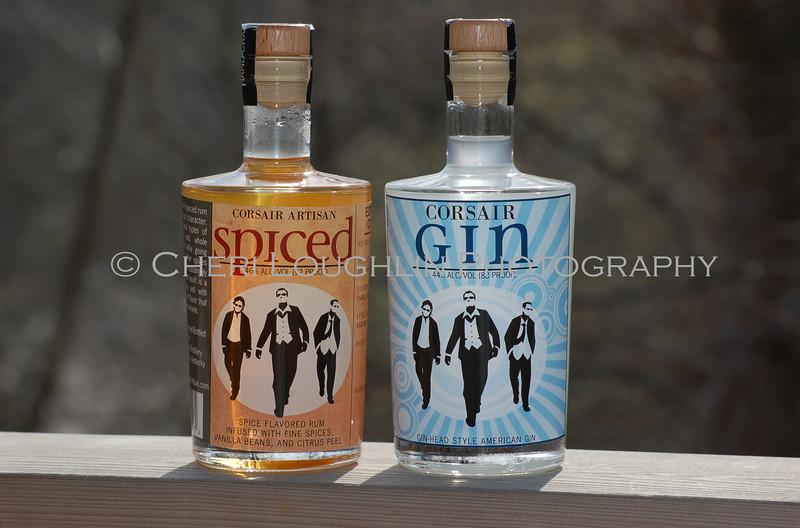 Corsair Spiced Rum and Gin 023