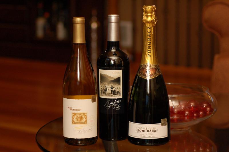Pongracz Brut - Small Wonders Chardonnay - Ambas Malbec Wines 2