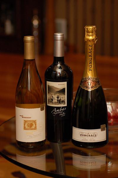 Pongracz Brut - Small Wonders Chardonnay - Ambas Malbec Wines 1