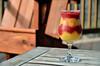Raspberry Peach Swirl Margarita 40