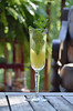 Minted Pineapple Champagne Cocktail 154
