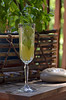 Minted Pineapple Champagne Cocktail 124