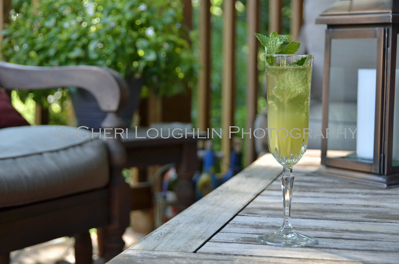 Minted Pineapple Champagne Cocktail 174