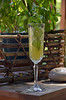 Minted Pineapple Champagne Cocktail 122