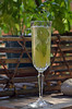 Minted Pineapple Champagne Cocktail 118
