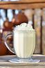 White Chocolate Raspberry Kiss Hot Chocolate