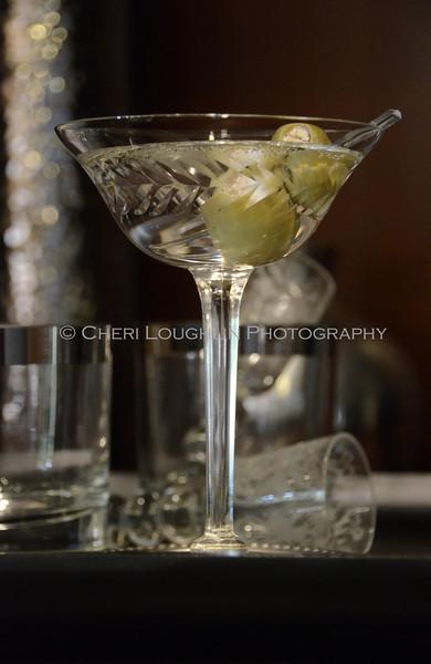 """Gin Martini - Stuffed Olives 026<br /> Traditional Martini & Dilly Bean Martini Recipe link on Intoxicologist.net <a href=""""http://bit.ly/1qwuvM4"""">http://bit.ly/1qwuvM4</a>"""
