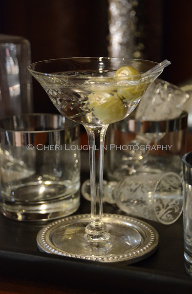 """Gin Martini - Stuffed Olives 009<br /> Traditional Martini & Dilly Bean Martini Recipe link on Intoxicologist.net <a href=""""http://bit.ly/1qwuvM4"""">http://bit.ly/1qwuvM4</a>"""