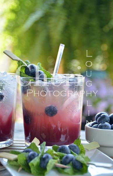 Blueberry Peach Mojito 105