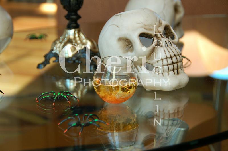 Bloodied Brains Halloween Shot