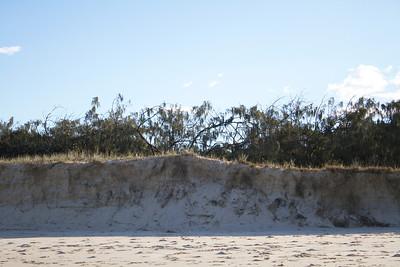 Erosion at the Sunshine Coast