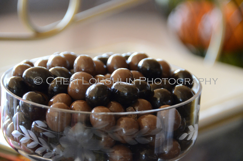 Espresso Beans in Candy Dish