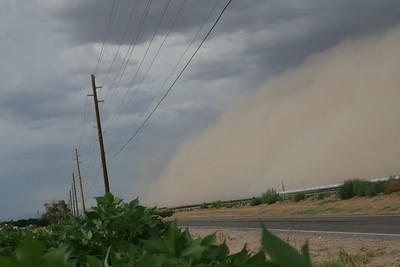 Haboob / Dust Storm 08-18-2011