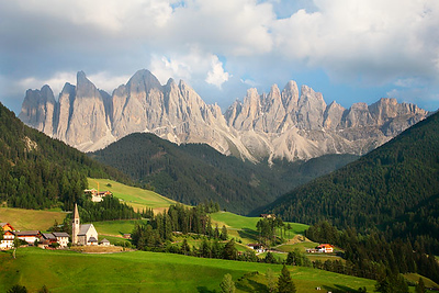 Dolomite Mountains in the Northern Italian Alps