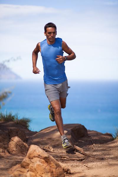 Trail Running in Kauai, HI