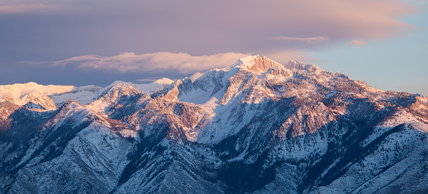The Wasatch Mountains of Utah