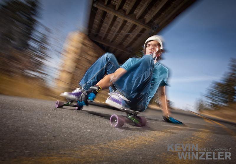 Blur, Carbon fiber, Deer Valley, Fall, Longboard, Longboarding, Moving, Park City, Randy Winzeler, Royal Street, Utah, action, asphalt, canvas, closeup, cruising, downhill, fast, kneeling, long board, motion, outdoors, passing, pavement, person, perspective, road, shoe, skateboard, skateboarding, skating, sky, sneaker, speed, sports, street, sunshine, tree, vertically, wheel,