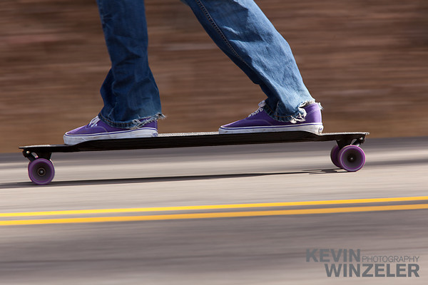 Blur, Carbon fiber, Deer Valley, Fall, Longboard, Longboarding, Moving, Park City, Randy Winzeler, Royal Street, Utah, action, asphalt, canvas, closeup, cruising, downhill, fast, kneeling, long board, motion, outdoors, passing, pavement, person, perspective, road, shoe, skateboard, skateboarding, skating, sky, sneaker, speed, sports, street, sunshine, tree, vertically, wheel,