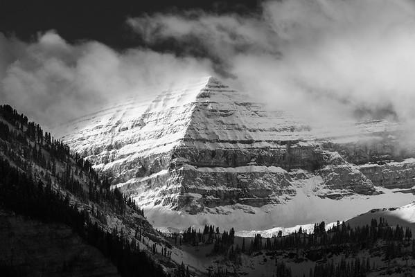 Revealing Mount Timpanogos