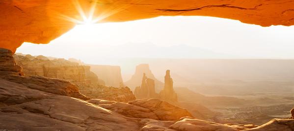 """""""Awake"""" at Mesa Arch"""