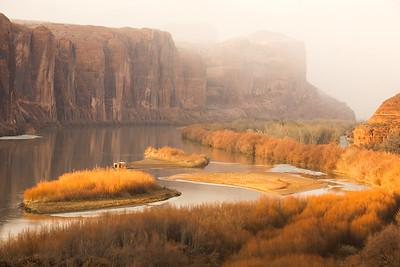 Wallstreet in Autumn - Moab, Utah