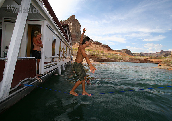 Underwater_Sports_photography_Lake Powell_1990