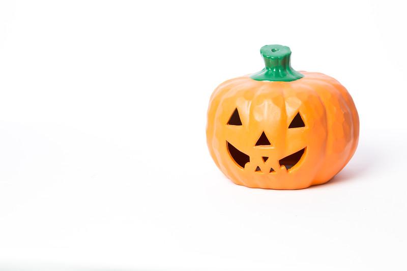 Halloween Pumpkins and Candles