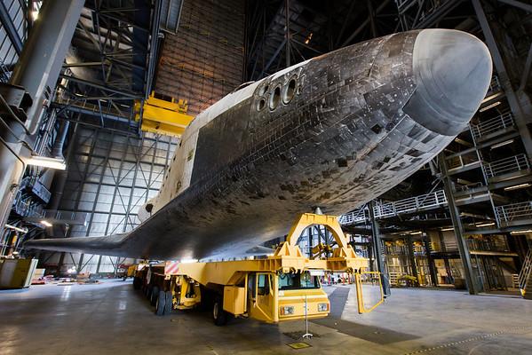 Atlantis Inside VAB