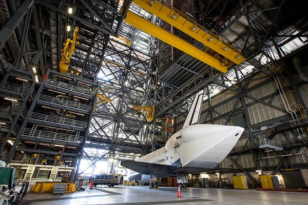 Space Shuttle Endeavour Walkaround