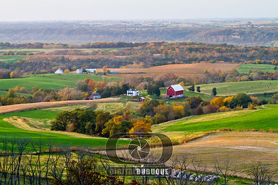 Balltown scenic view in the fall