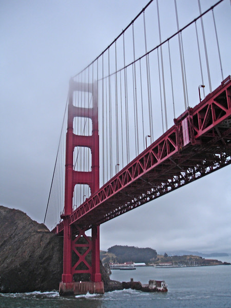 Are you surprised that the fog is rolling in to cover the Golden Gate bridge?