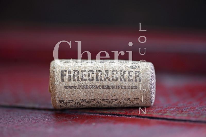 Firecracker Wine Cork 572