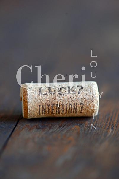 Luck Intention Wine Cork 182
