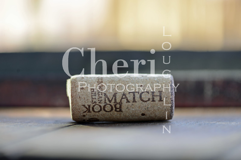 Match Book Wine Cork 748