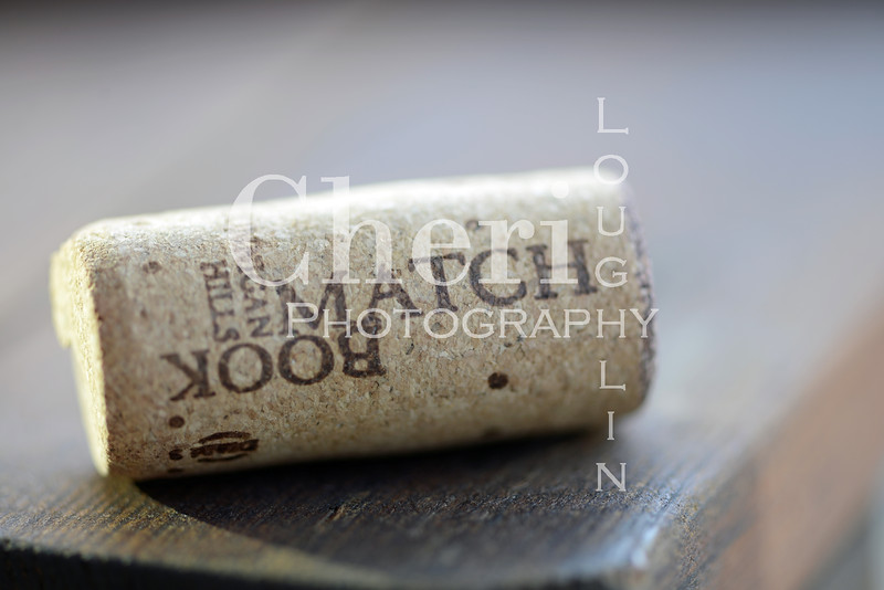 Match Book Wine Cork 807