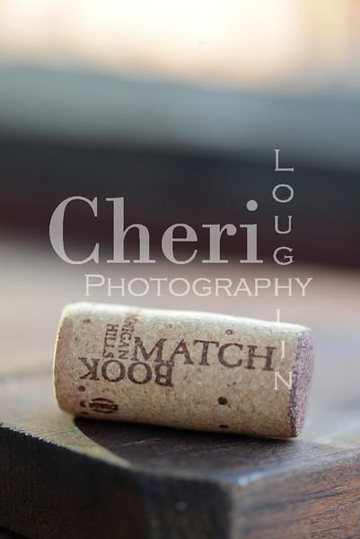 Match Book Wine Cork 772