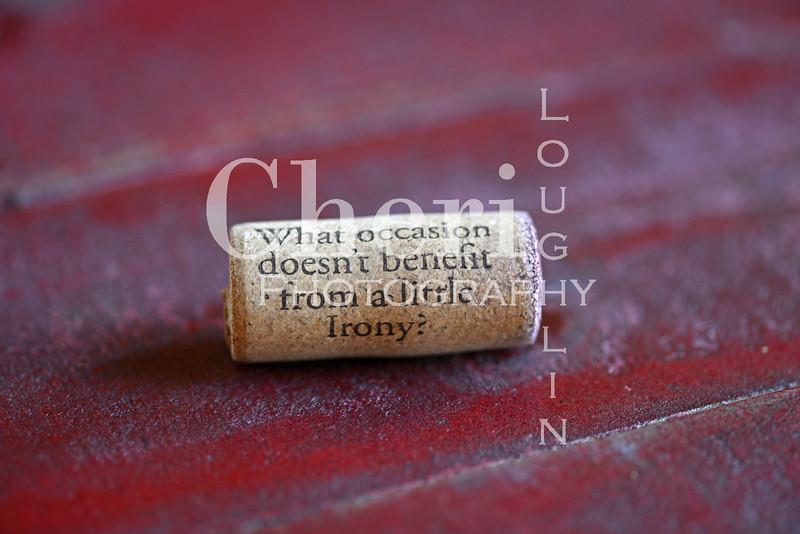 Irony Wine Cork 214