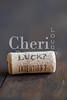 Luck Intention Wine Cork 180