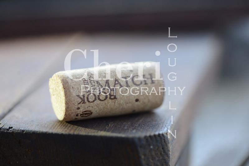 Match Book Wine Cork 779