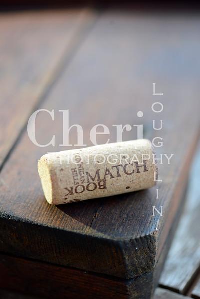 Match Book Wine Cork 788