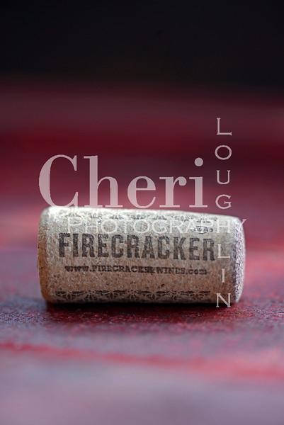 Firecracker Wine Cork 598