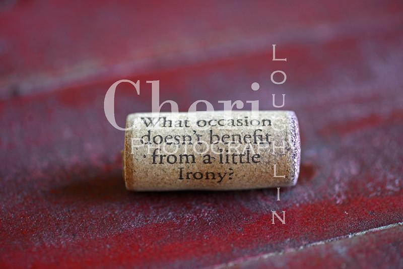 Irony Wine Cork 222
