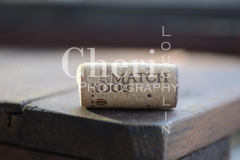 Match Book Wine Cork 757