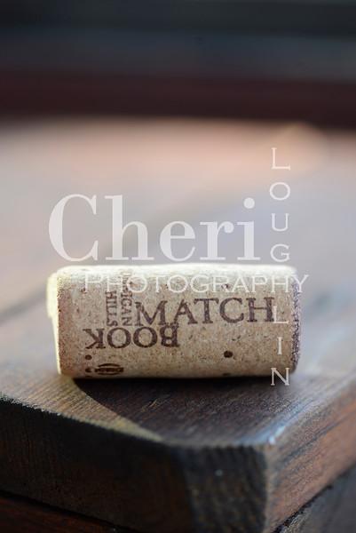 Match Book Wine Cork 768