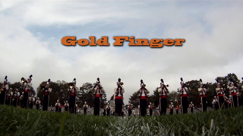 Beverly High School Marching Band performs Gold Finger. Edited at BevCam.