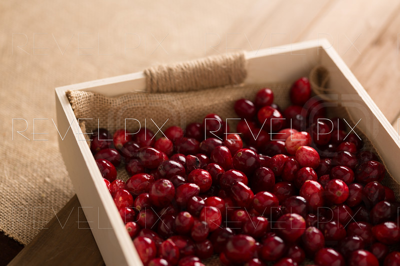 Basket of Cranberries