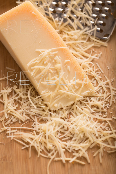 Parmesan Cheese and Grater Close Up
