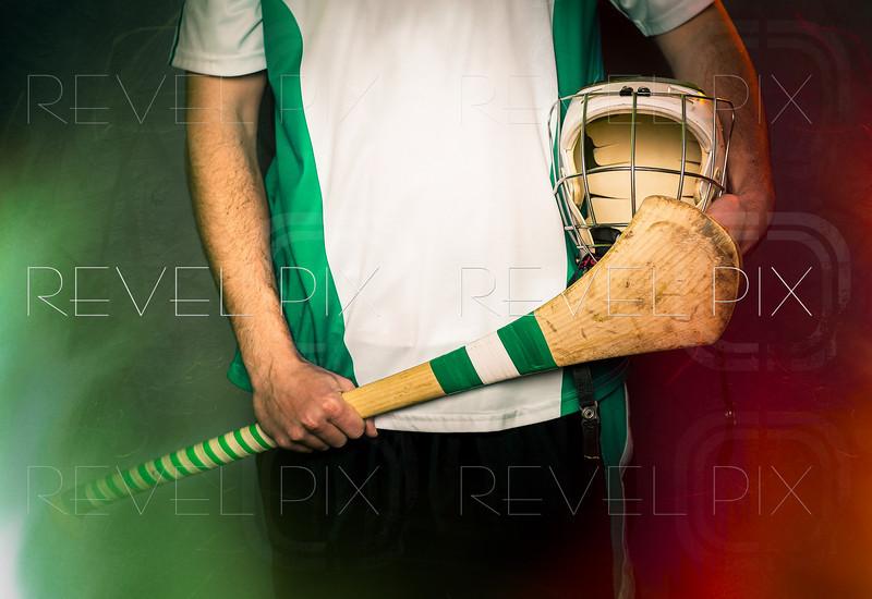 Hurling Player Blank Jersey