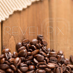 Coffee Beans Lower and Cloth High