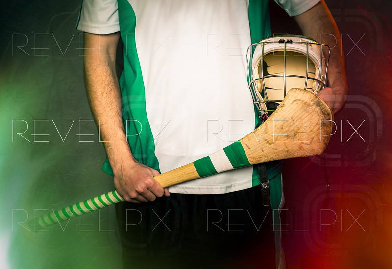 Hurling Player Blank Jersey